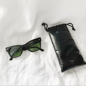 Old CÉLINE Acetate Cat Eye Sunglasses